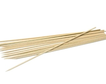 Bamboo Sticks For PMC Art Clay Smooth Surface Sold Package Of 12 WA 250-140