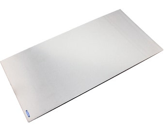 "Nickel Silver Sheet Thick 24 Gauge (1.02mm) 6"" x 12"" Jewelry Finding Soldering Metal WA  845-134"
