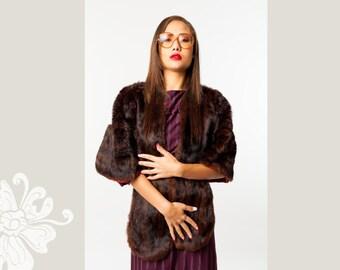 SOLD Vintage Faux Fur Wrap