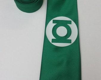 Green Lantern Mens NeckTie