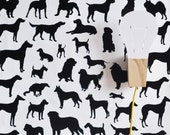 """24"""" x 48"""" Dog Frenzy Removable wall paper tile - Wall Paper"""