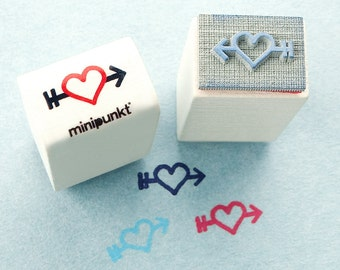 Stamp with heart Peili