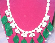Great Old Miriam Haskell Bead Necklace