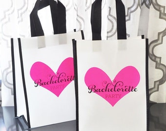 12 - Bachelorette Party Tote Bags