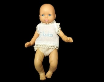 Mi Bebe Boy Anatomically  Correct Baby Doll Vintage  1970's 80's  Made in Mexico    2014775 -123