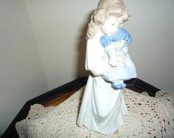 Lladro Nao Girl Figurine