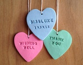 Handmade Personalised Wedding Decoration - Wishing Well - Valentines Day Gift - Hearts