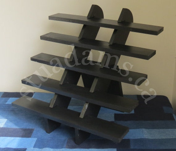 Portable Display Stand 5-shelf Display Soap By