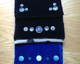 Panelled Clutch Purses