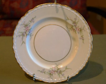 Vintage Arcadian China, Old Rose Pattern, Bread and Butter Plate