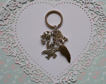 Maleficent Charms Keychain