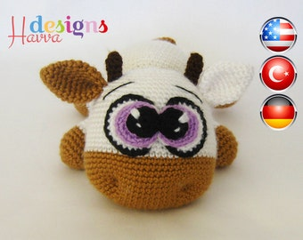 Amigurumi Cute Cow Pattern
