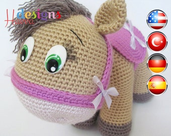 PATTERN - Pony (Amigurumi Crochet)