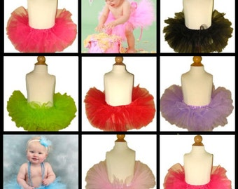 30 Tutus . WHOLESALE Tutus . 15 Lime Tutus and 15 Lavender Tutus . Infant Ballet Tutu Skirt