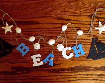 Beach Decor - Beach Garland