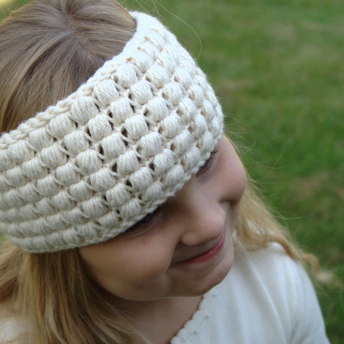 Crochet Ear Warmer Pattern For Toddlers : Toddler Ear Warmer Pattern Head Warmer Pattern Crochet