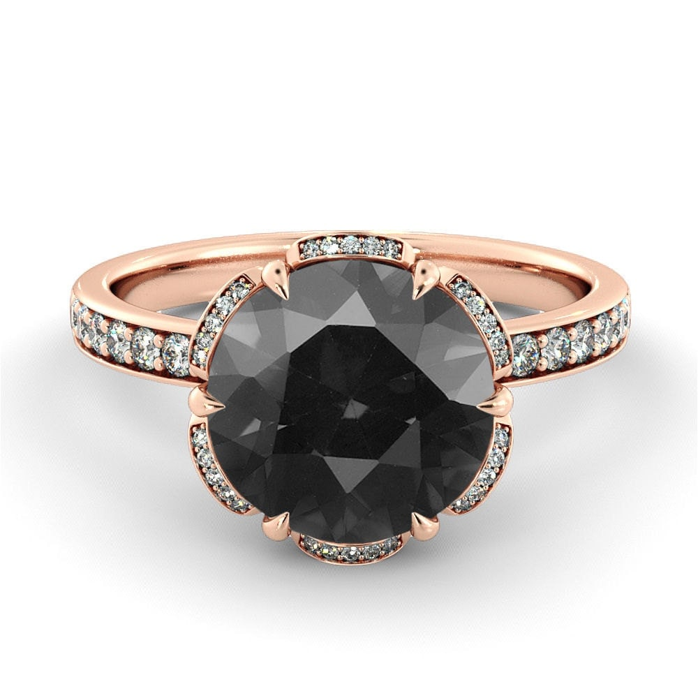 Image result for black diamond ring