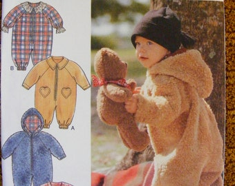 Baby / Toddler Winder Romper Uncut Syle Sewing Pattern 2788 size newborn s m l
