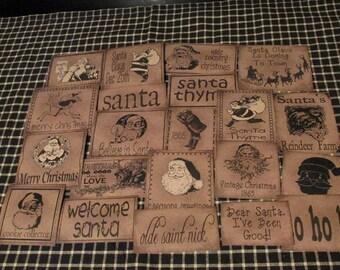 Santa Prim Pantry Labels