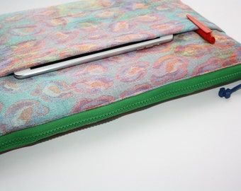 Colorful MacBook Air 13 sleeve with zipper, MacBook Air 13 Sleeve, MacBook Pro 13 case, MacBook Air 13 Cover, MacBook Pro 13case, Laptop bag