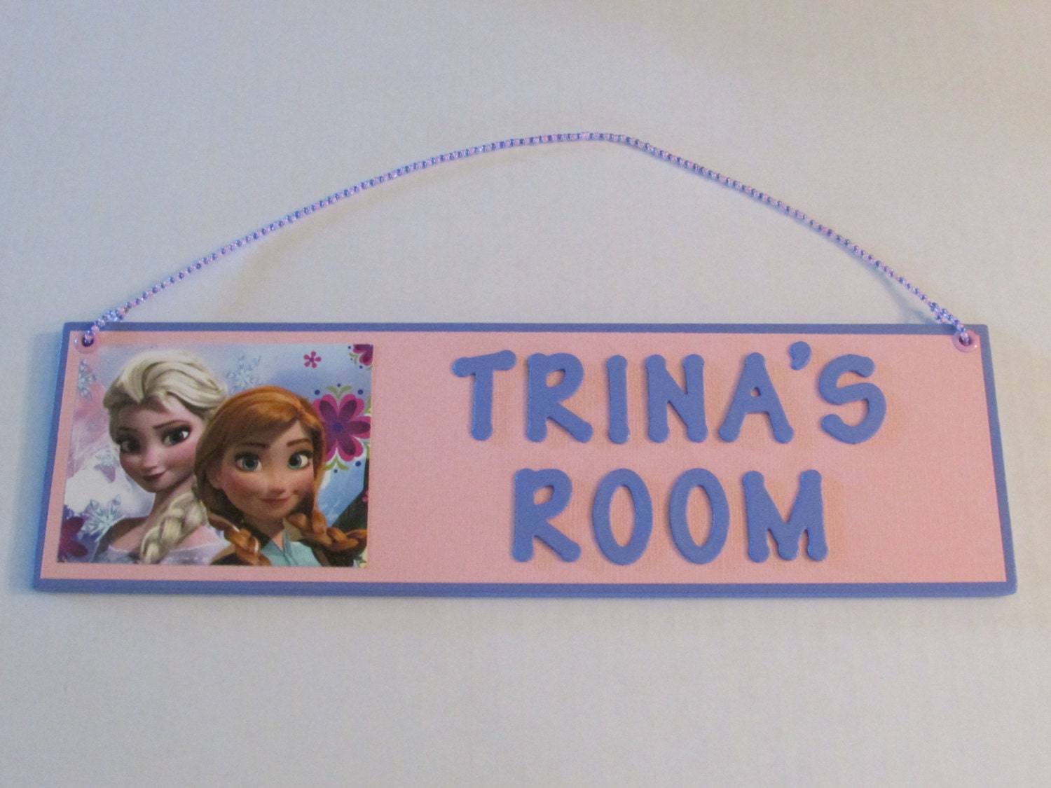 disney frozen personalized room decor sign elsa anna 15172 | il fullxfull 829039606 6ill