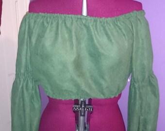 Long sleeve renaissance blouse
