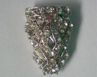 Rhinestone Fur / Dress Clip - 4073