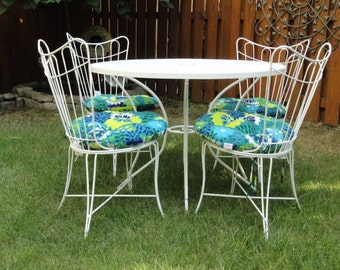 Exceptional Homecrest Patio Set From 1960u0027s