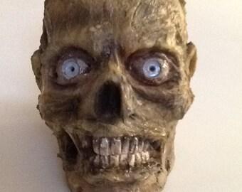 Walking Dead Zombie Head
