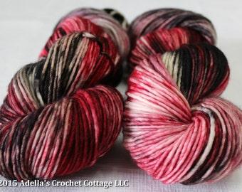 Insidious - Hand Dyed Cottage DK Weight Superwash Merino Yarn