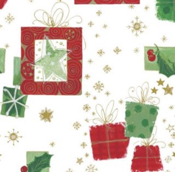 Christmas Gift Wrap Wrapping Tissue Paper Presents Decorations