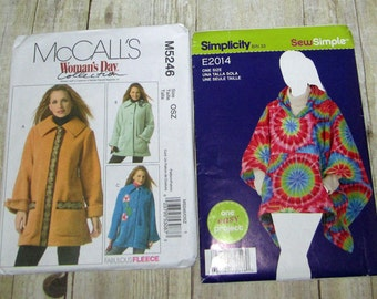 154)  Simplicity 2014  Misses OSZ Jacket  Mccalls 5246  Misses Size OSZ Jacket