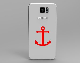 Anchor Phone Decal