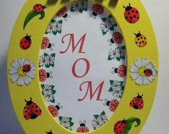 Mom Oval Frame