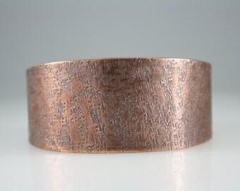 Copper Cuff Bracelet, Cuff Bracelet, 7th Anniversary, Boho Cuff,  Rustic Copper Bracelet, Copper Jewelry, Boho Jewelry, Gift for her