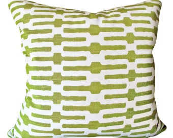 Annie Selke Links P Kaufmann Pillow Cover - Decorative Pillow - Both Sides - 12x18, 12x20, 14x18, 14x20, 14x24, 16x16, 18x18