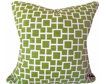 Robert Allen Geometric Cats Cradle Decorative Pillow Cover - Throw Pillow - Toss Pillow - Both Sides - 12x20, 14x24, 18x18, 20x20, 22x22