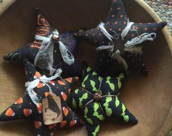 Haloween Star Bowl Filler - set of 4