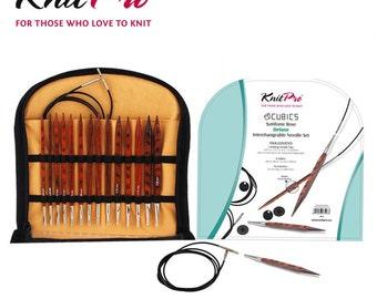 Knitpro Cubics-Symfonie Rose Interchangeable Needle Set
