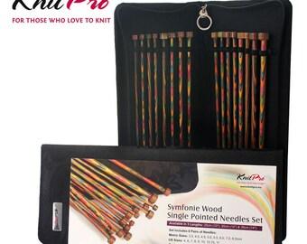 KnitPro Symfonie Single Pointed Knitting Needle Set