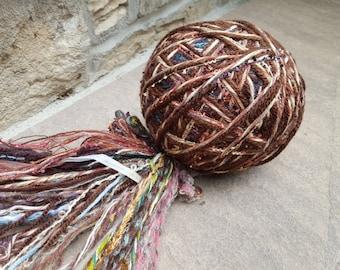 FEZA Alp Oriental Yarn - hand tied, luxury, novelty, art yarn