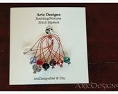 Stitch Markers - Red...