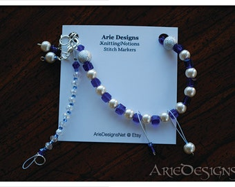 Row Counter Bracelet - Dark Blue