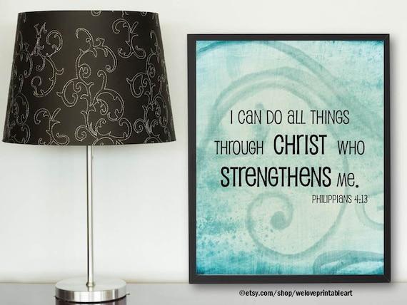 printable bible verse sign