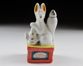 Porcelain Kitsune Altar Fox