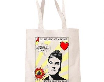 Morrissey Lyric Tote Bag