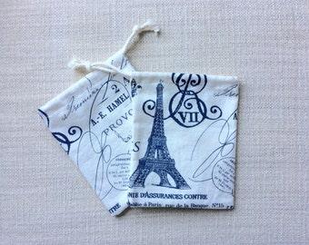 Small Drawstring Bags (Set of 2)