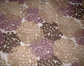 Pottery Barn HYDRANGEA blooms Cotton Duvet Set Full or QUEEN Duvet 2 Shams Floral Purple