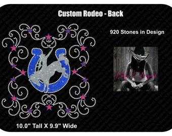 Rodeo Rhinestone Bling Shirt