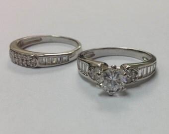 Stunning CZ 925 Silver Ring